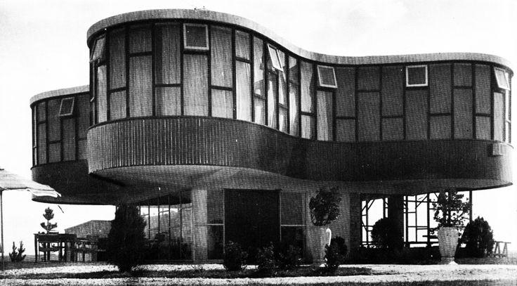 Marcel Breuer: ARISTON Restaurant, Mar del plata, Argentina, 1947