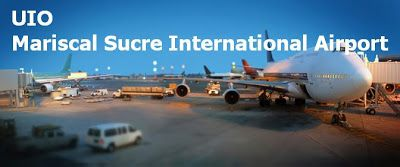 Horario de vuelos internacionales desde Quito día Miércoles