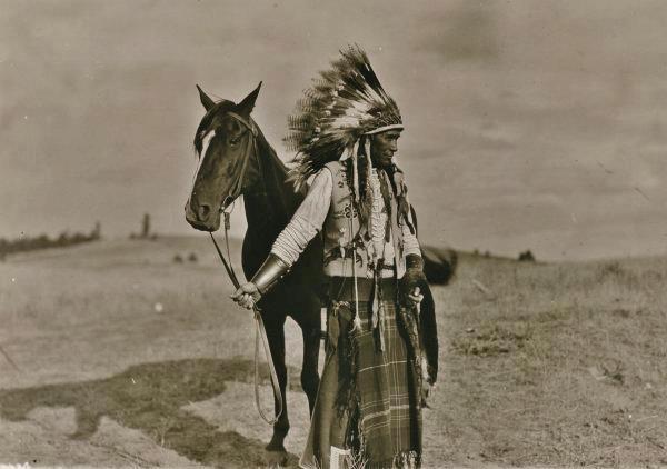 """Jim Elijah - Spokane Tribe - circa 1920   Spokane means """"children of the sun."""""""