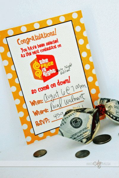 The Price Is Right Group Date {FREE Printables included!} www.TheDatingDivas.com #dateideas #groupdateideas #freedateideas