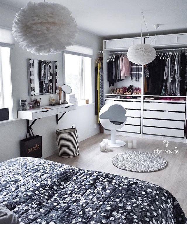 Idea camera da letto cabina armadio