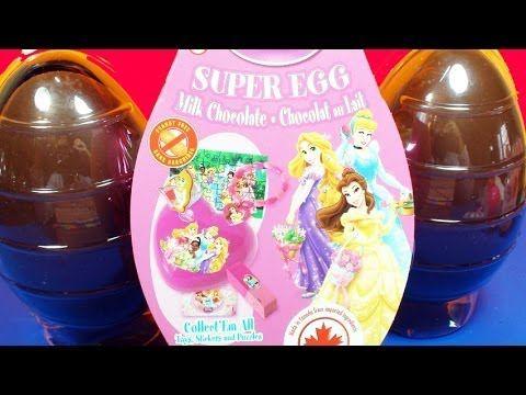 ★Surprise Eggs Kinder Disney Princess Super Eggs Tangled, Little Mermaid, Cinderella Disney Toy!★  Surprise Eggs Unboxing, featuring the latest Disney Princess edition! Lots Of Surprises With The Famous Kinder Surprise!