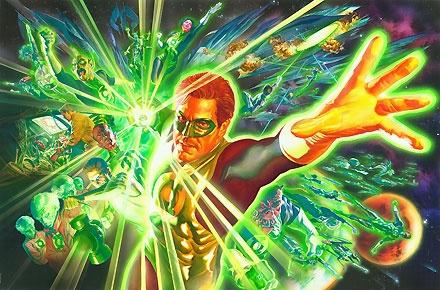 The Green Lantern - The Power of the Ring - Alex Ross - World-Wide-Art.com - $550.00 #AlexRoss #GreenLantern