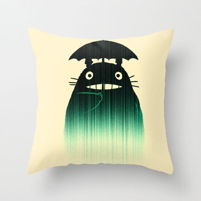 black-green-pillow