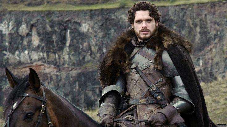Robb Stark, King of the North <3 nadal nie mogę wybaczyć G.R.R.M, że go zabił ;/
