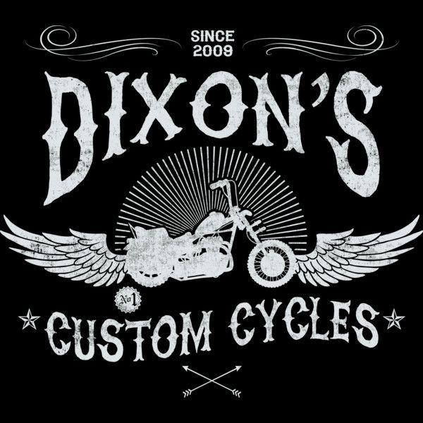 Dixon's Custom Cycles T-Shirt $12.99 Walking Dead tee at Pop Up Tee!