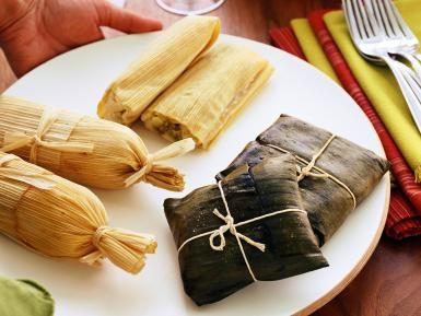 ¿Por qué tamales para el 2 de febrero?: Tamales en hoja de maíz y hoja de plátano