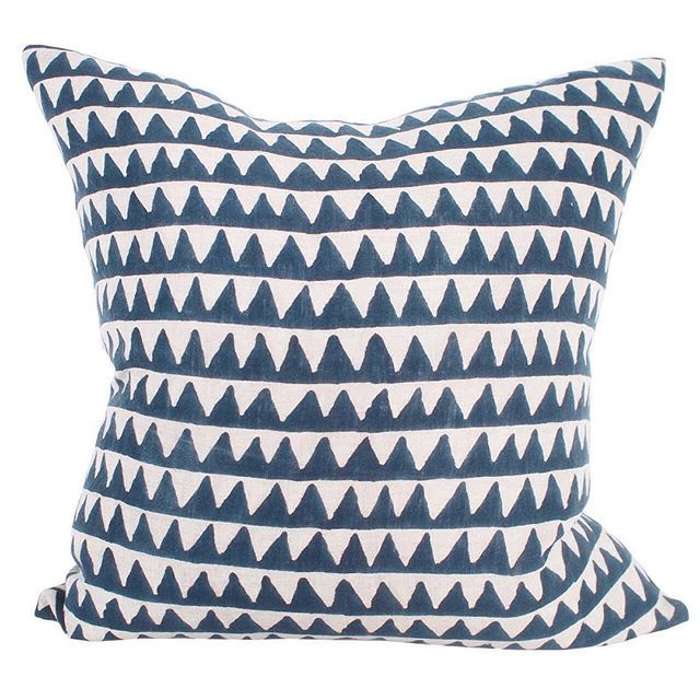 Salt Living | For those who live by the sea #walterg #blockprint #textiles #indigo