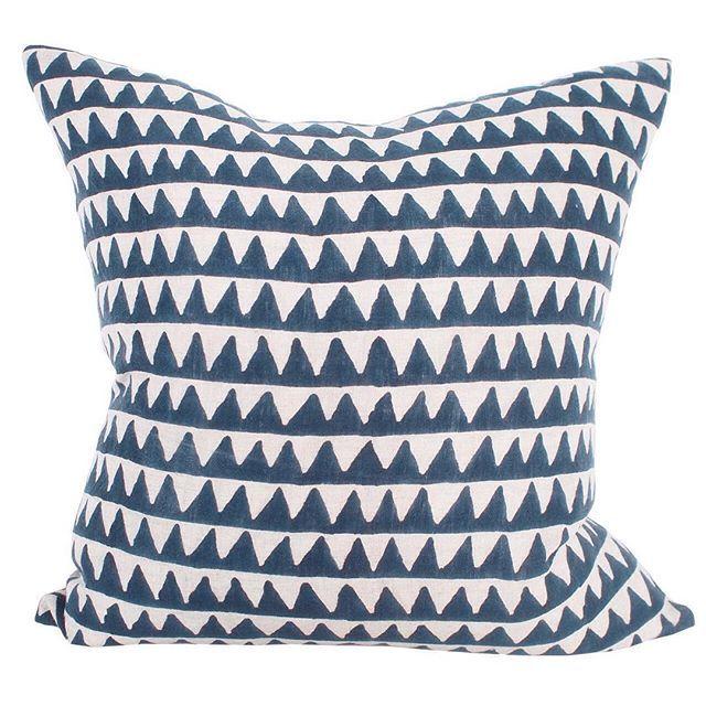 Salt Living | For those who live by the sea #walterg #blockprint #textiles #indigo