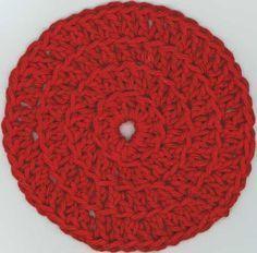 Comment faire un rond au crochet- répartir les augmentations Commment réaliser un rond au crochet . Calculer le nombre d'augmentations par tour en maille serrées, demi-brides, brides, doubles brides