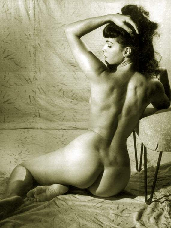 Nude page betty paige