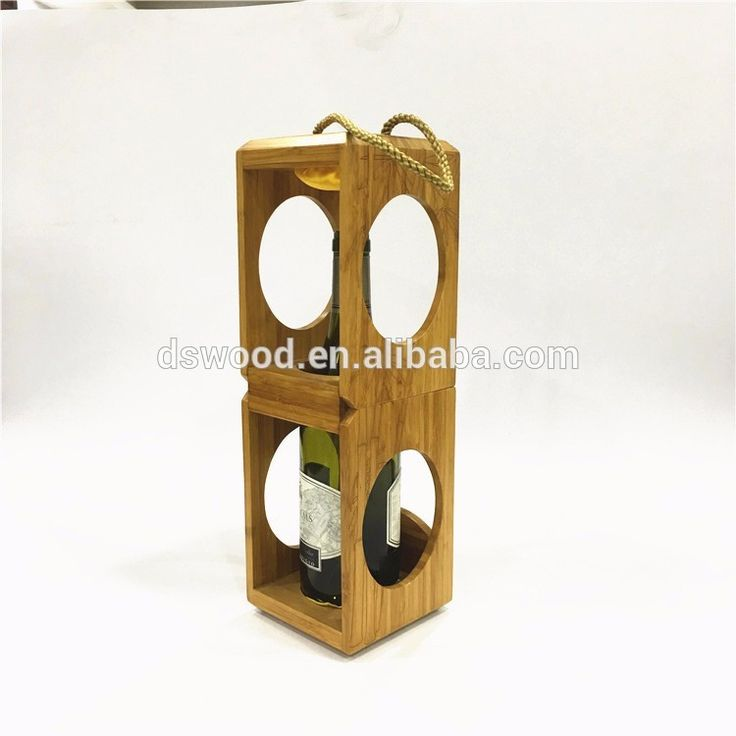 Special Eco Friendly Bamboo Material 1 Wine Bottle Box Packaging Box From  China #winebox
