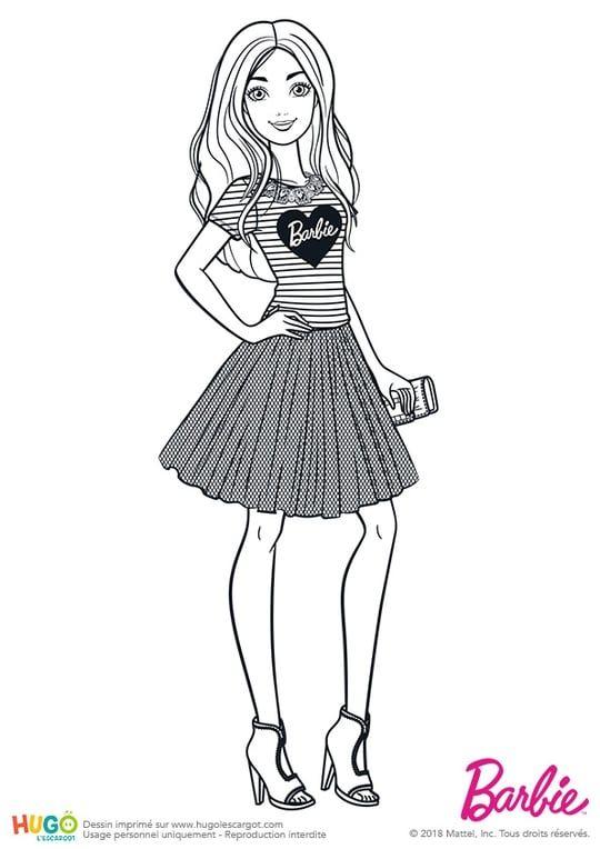 Barbie Fashionistas Tenue De Cocktail Desenhos Para