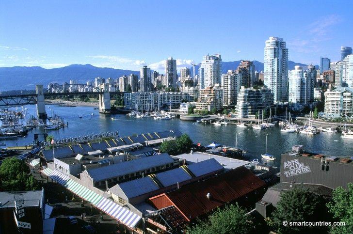 False Creek, Vancouver, Canada.