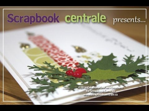 Scrapbook Centrale: Jour 5 * Douze jours de Noël / Day 5 * Twelve Days of Christmas