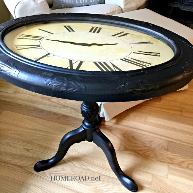 Repurposed Clock Table