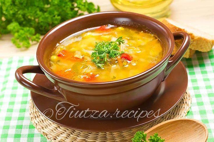 Vegetables soup https://tiutza.recipes/ciorbe/ciorba-de-zarzavat/