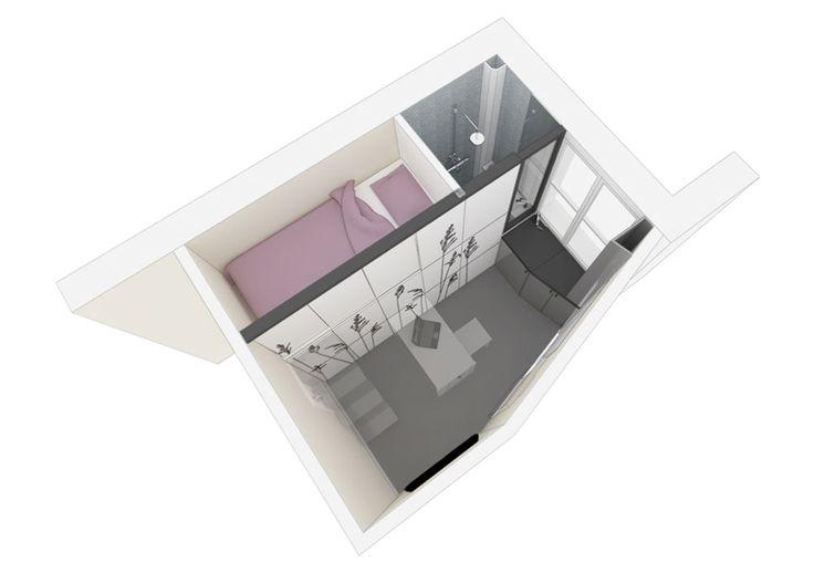 Apartament de 8 mp #smallflat