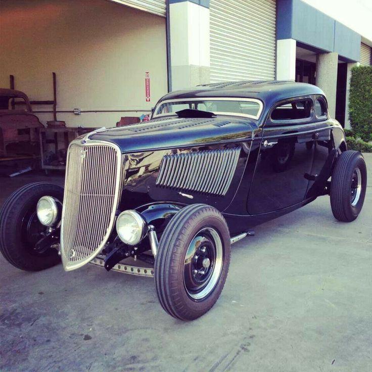 593 best hot rods rat rods customs images on pinterest for Garage ford 33