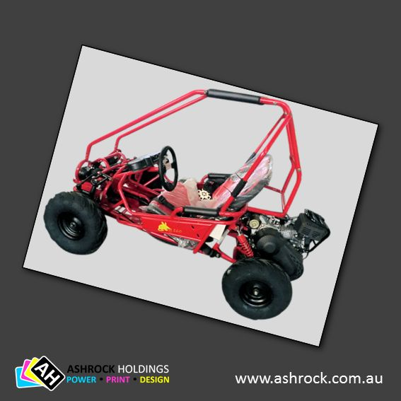 Bilby 160 5.5HP Kids Go Kart (Red) #ashrock #zuma #bilby160 #gokart #buggy #kids #red
