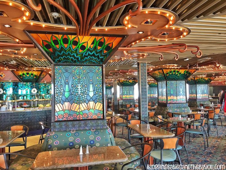 Lido Deck  Tiffany's Restaurant Carnival Cruise Elation - Ship Details, Decor, Dining menu and more
