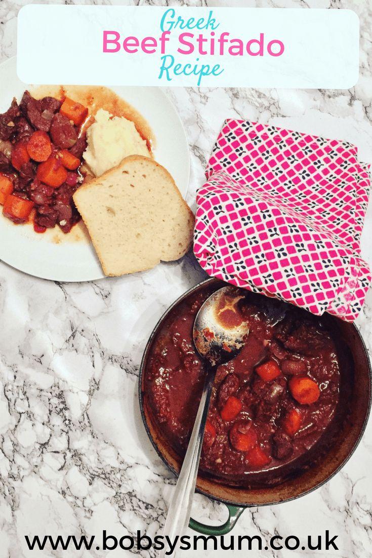 Yummy Beef Stifado Recipe. Greek Beef Stew one pot. #Beef #onepot #beefrecipes