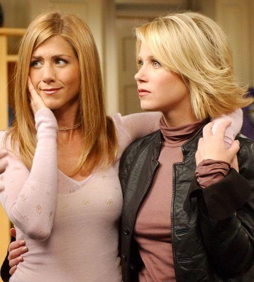 Friends - Rachel and Amy Green (Jennifer Aniston & Christina Applegate)