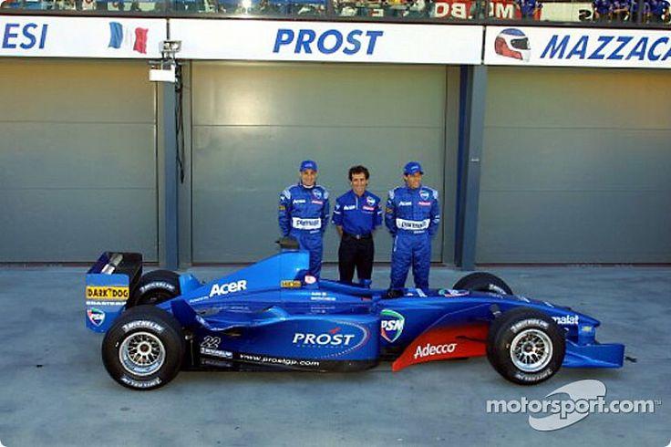 Jean Alesi, Alain Prost, & Gastón Mazzacane