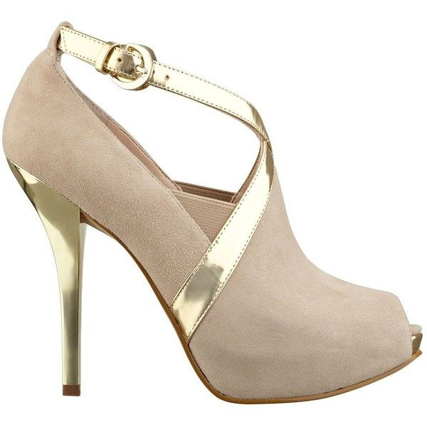 GUESS Peep-Toe Bootie with Cutout $169