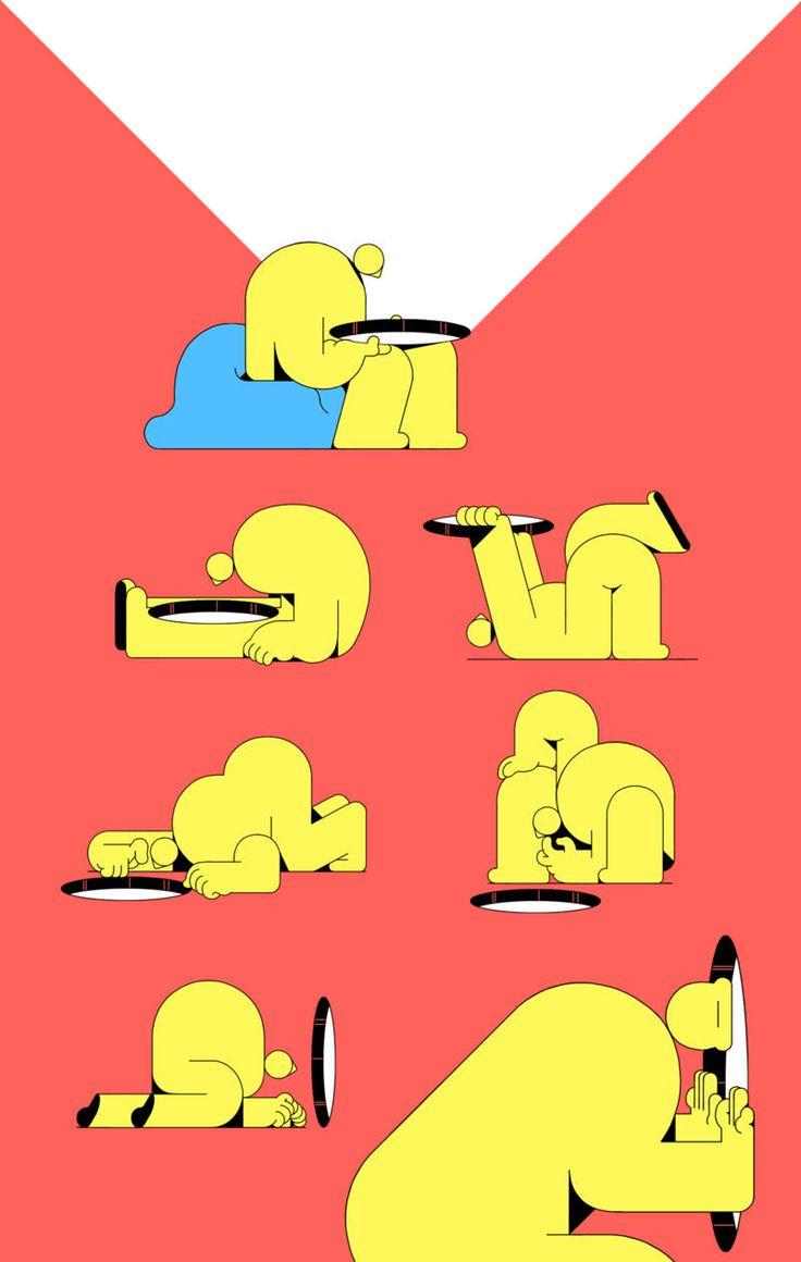 Nic Cester | Psichebello #ilustracion #Animacion #Videoclip Coctel Demente