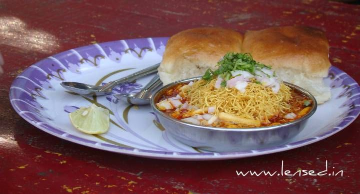 Misal pav is ready to eat, fast snacks favourite by huge number of people. Like paav bhaji it has very large fan following. No wonder it found its own place in busy & fast life of Mumbai. Bread & spicy curry served with farsan and freshly cut onion, lemon completes the misal pav dish. Many different region and places varied its appearance, taste.