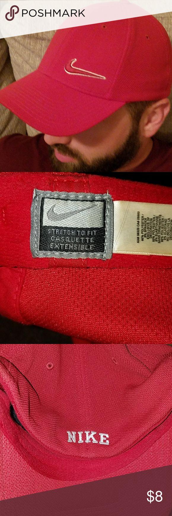 Nike Hat Men's Red Nike Hat L/XL Accessories Hats