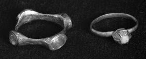 Fingerringer med edelstener, Tyskland, 12-1300.
