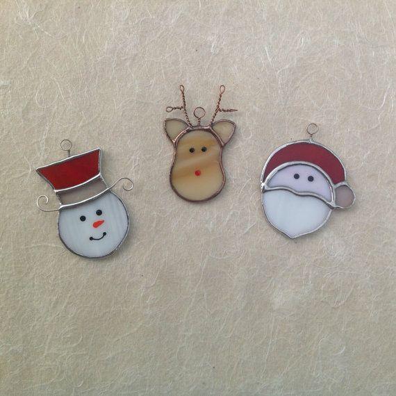 Decorazioni+natalizie+Babbo+Natale+e+i+suoi+amici+di+CloverSbox