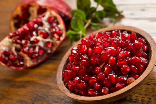La granada, una fruta que limpia las arterias