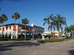 This is Main Street in downtown Venice Florida.
