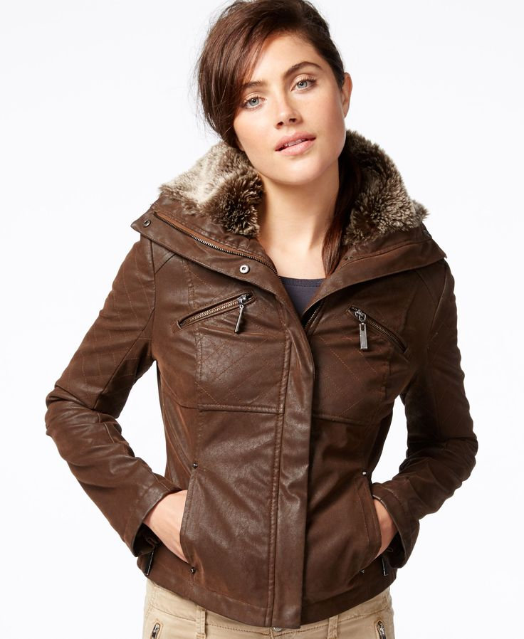 The 25  best Brown leather bomber jacket ideas on Pinterest   Red ...