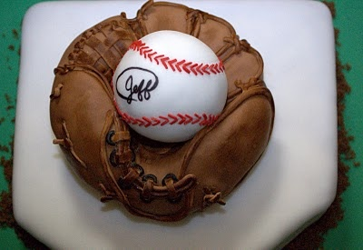 Cakes by Tatiana: Baseball Glove & Ball Cake