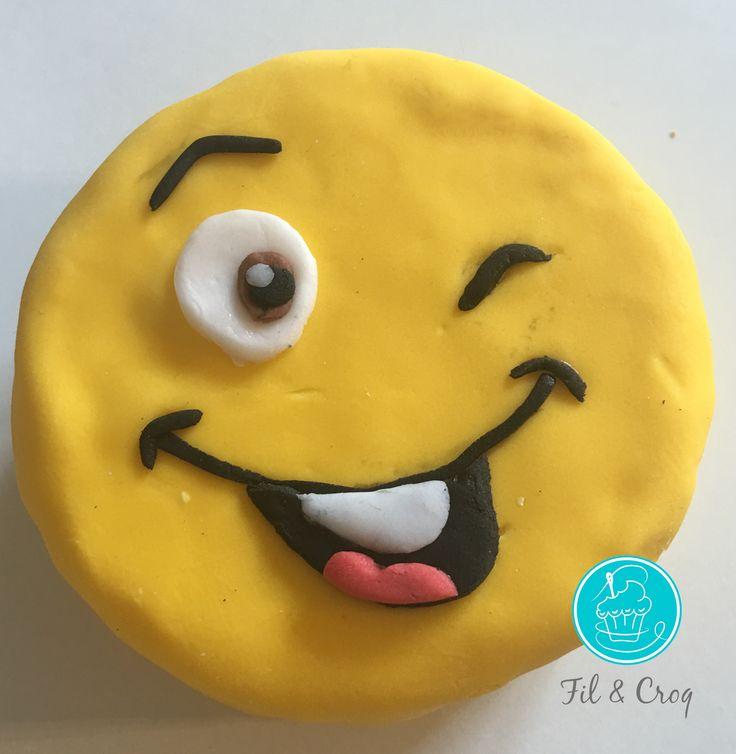 Et si on faisait un cake design Smiley ensemble ? Le tuto pas à pas en photo…