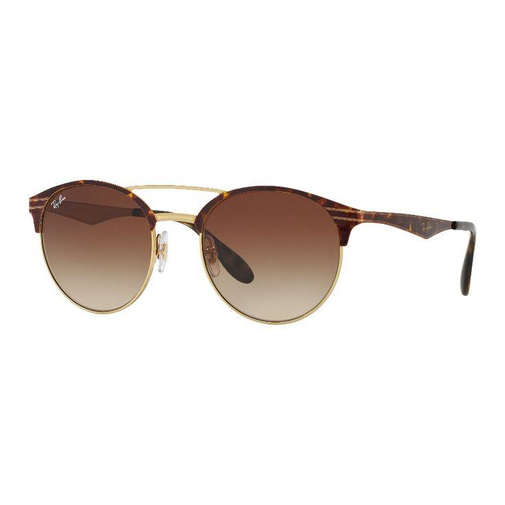 Koop de Ray-Ban Gold Havana Zonnebril RB3545 900813 zonnebril online in onze webwinkel.                     Dit is een unisex zonnebril.                              De kleur van het montuur van de zonnebril is bruin, havana en de glazen zijn bruin.                                       De Ray-Ban zonnebrillen zijn licht van gewicht en bieden dus optimaal draagcomfort.                 Van een Ray-Ban Gold Havana Zonnebril RB3545 900813 zonnebril heb je jarenlang draagplezier.   ...