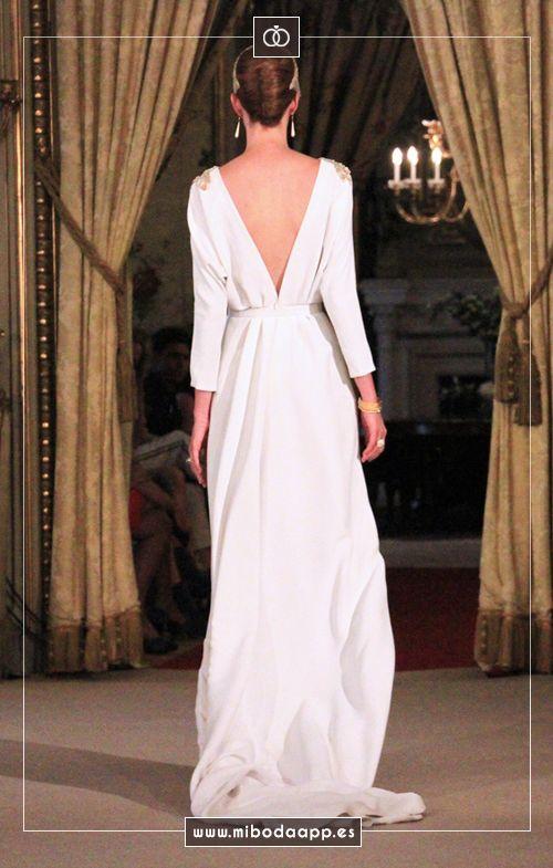 Desfile de Paula del Vas en Atelier Couture 2015.