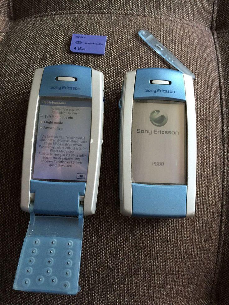 Sony Ericsson P800 -Set of 2 Blue (Unlocked) GSM *SUPER ... | 736 x 981 jpeg 165kB
