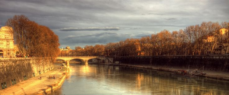 Golden hour in Rome