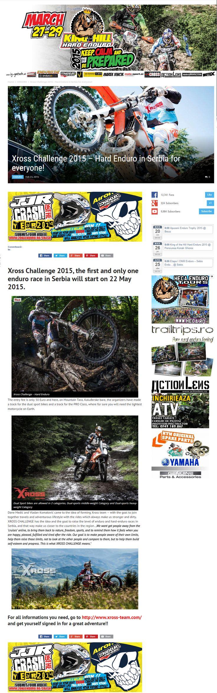 http://zonaenduro.ro/xross-challenge-2015-hard-enduro-in-serbia-for-everyone/ - #Romania #enduro #hardenduro #motocross #sport #adrenaline #race #Serbia