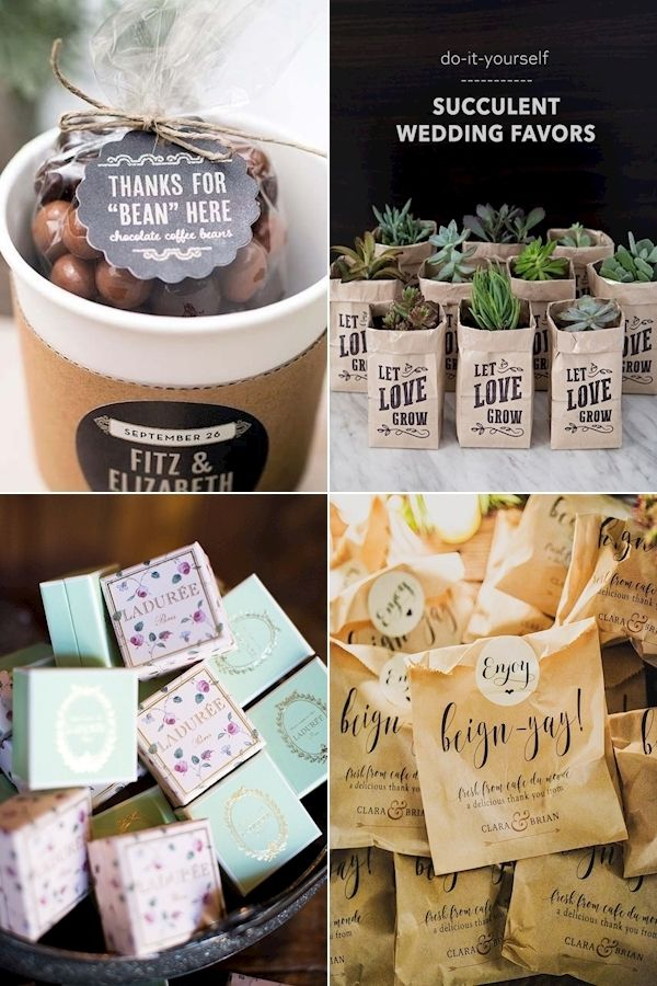 Creative Wedding Favors Most Unique Wedding Favor Ideas Wedding Gifts And Favours In 2020 Succulent Wedding Favors Wedding Favors Unique Wedding Favors