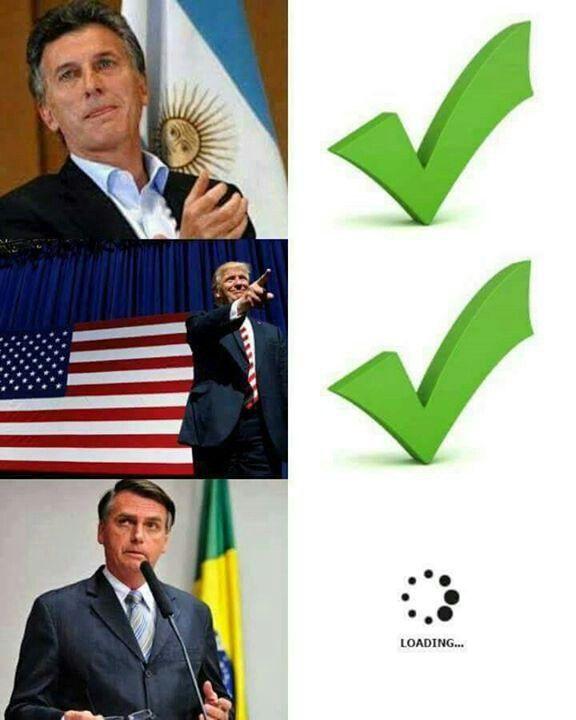 Macri Argentina Trump Estados Unidos Bolsonaro Brasil