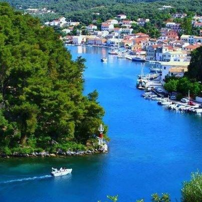 Gaios, the charming port town of Paxos