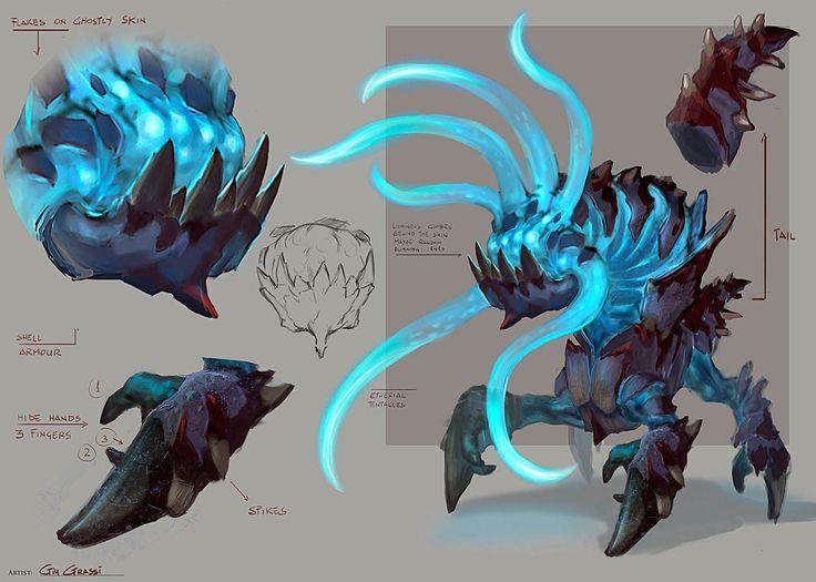 Abyssal demon concept art                                                                                                                                                                                 More