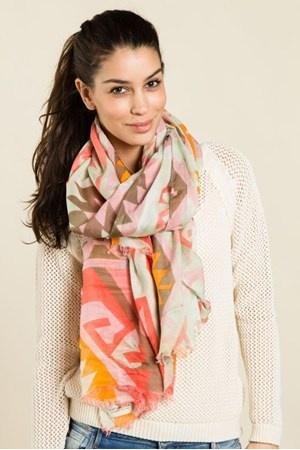 Färgglad scarf från Scotch & Soda