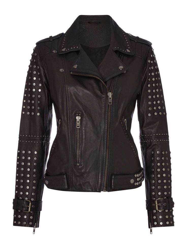 Best 25 Studded Leather Jacket Ideas On Pinterest